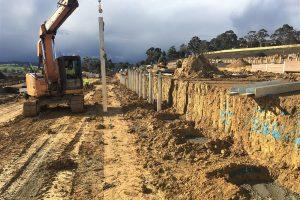 Cloverlea Retaining Walls